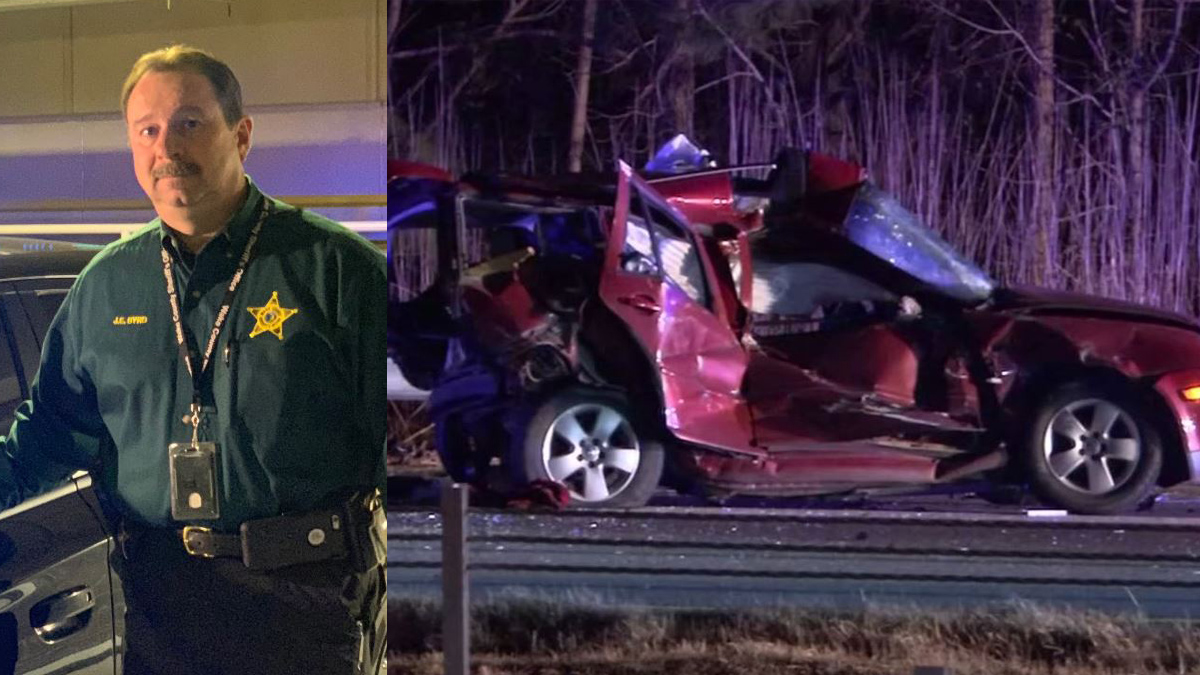 Wake County Sheriffs Office Major Jimmy Byrd is being called a hero for his off-duty work to help a victim injured by a high-speed crash.