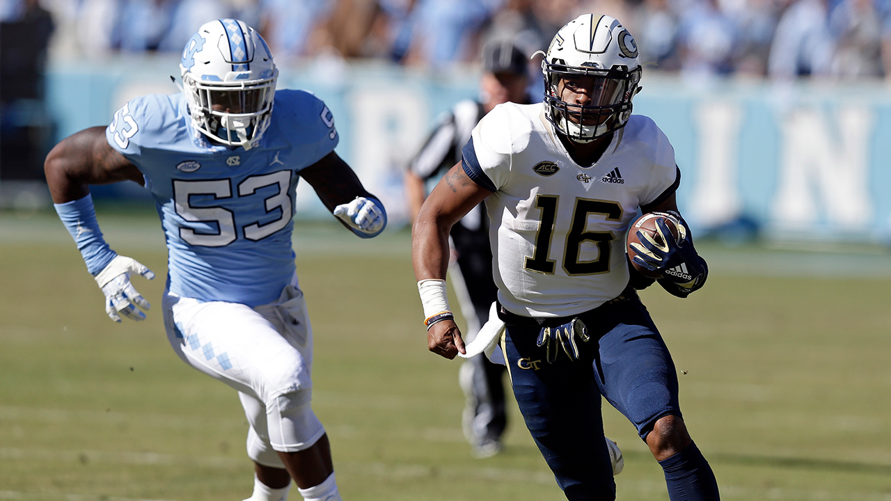 Oliver leads Yellow Jackets past Tar Heels 38-28 (AP)