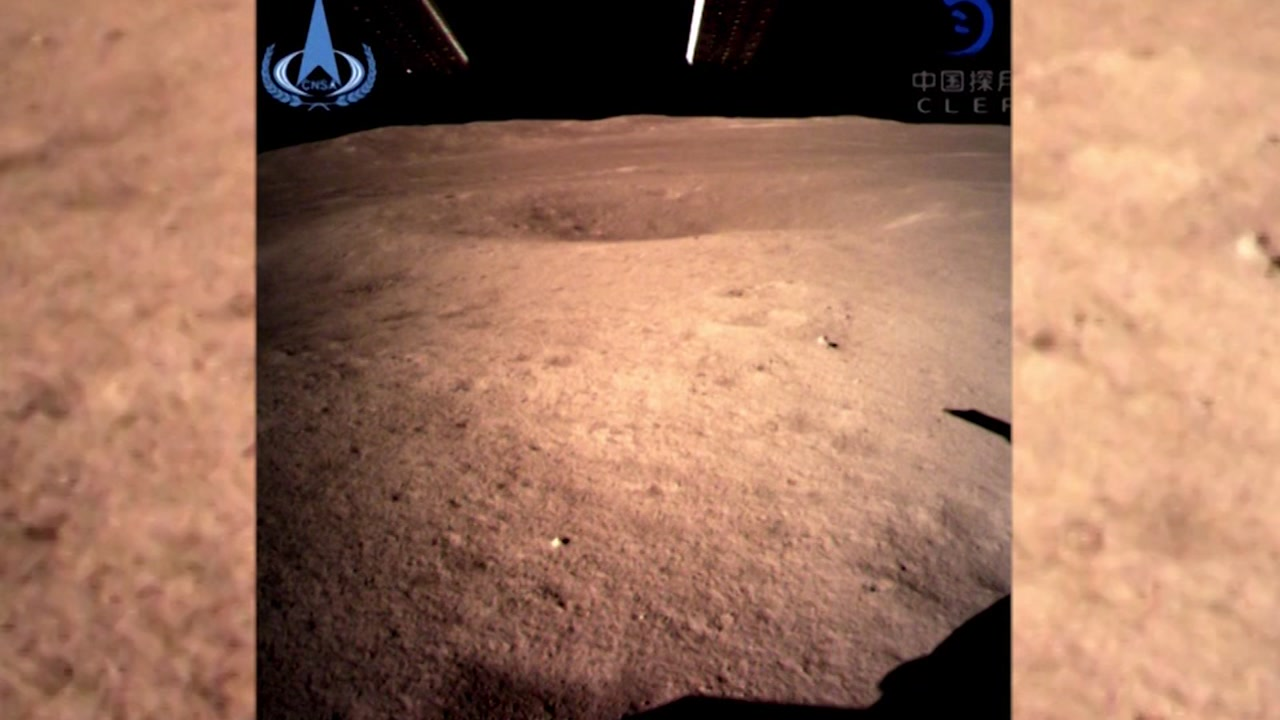 Chinas burgeoning space program achieved a first on Thursday: a landing on the so-called dark side of the moon.