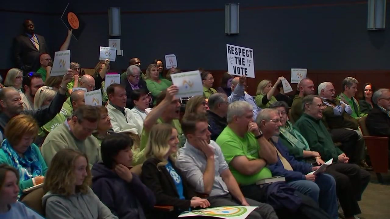 Public lashes out at Wake County Board of Commissioners on Crooked Creek plan.