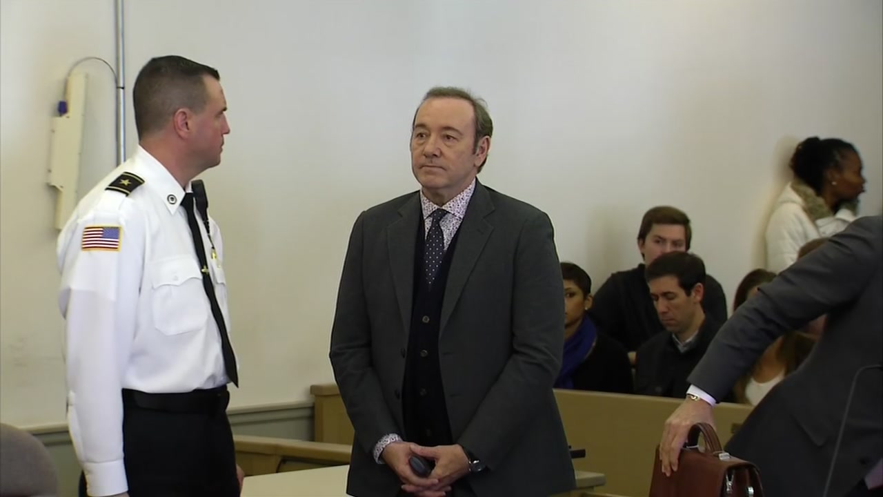 Lawyers for Kevin Spacey entered a not guilty plea on his behalf in Massachusetts court on charges he groped an busboy in 2016.