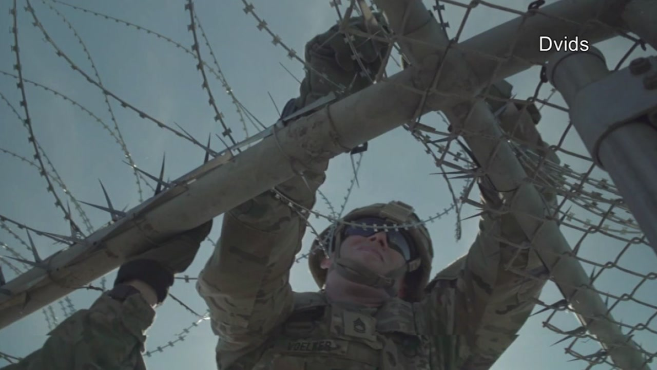 ABC11 learned more than 100 Fort Bragg soldiers are deployed along the border assisting the Department of Homeland Security and U.S Customs and Border Protection.