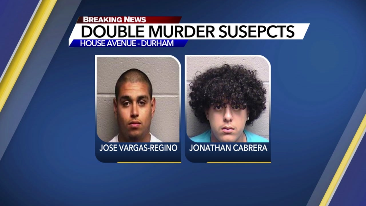 Two people are charged in a double homicide on New Years Day.