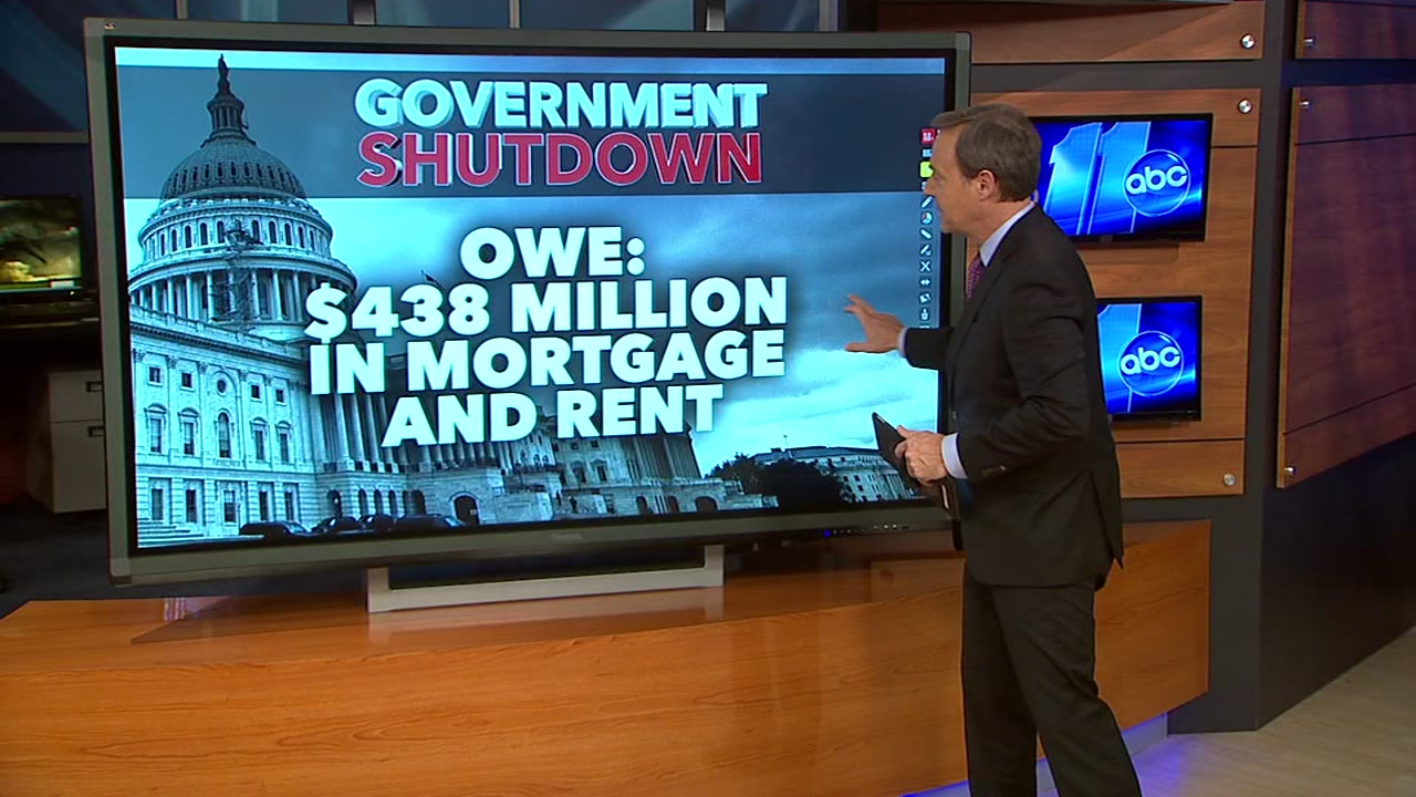 On Friday, 800,000 federal workers will miss their first paycheck since the partial government shutdown began on December 22.