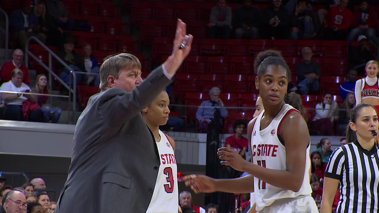 The N.C. State womens basketball team is ranked 8th in the country.