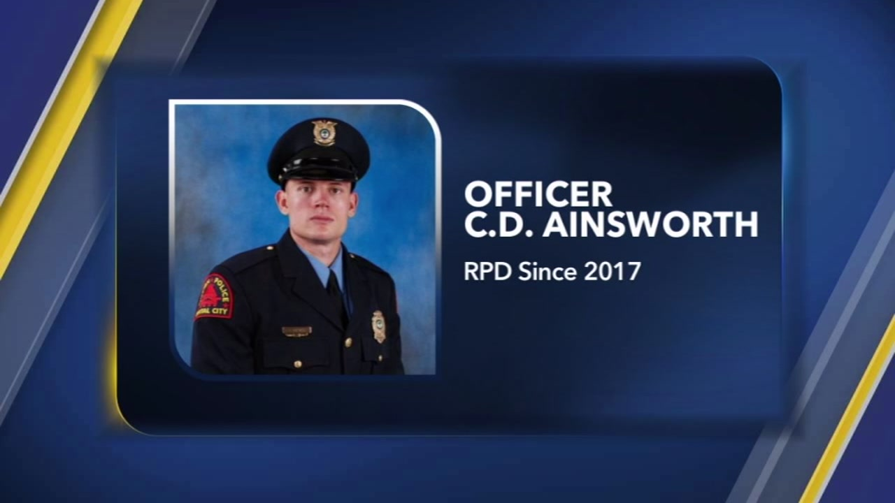A Raleigh police officer who was shot multiple times Wednesday night is out of surgery.
