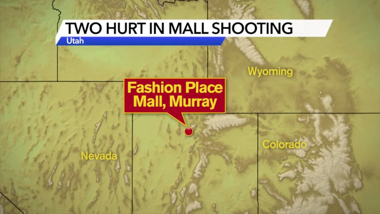 Gunman opens fire at mall in Salt Lake City suburb, 2 wounded