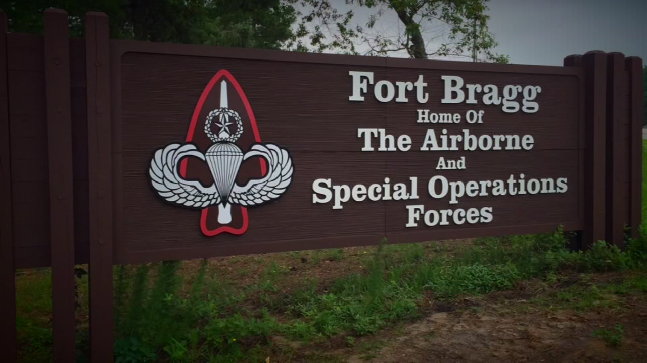 Training accident reported at Fort Bragg