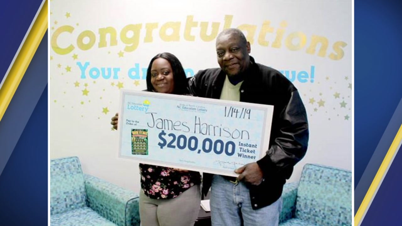 James Harrison is giving his daughter the credit for his $200,000 lottery win, calling her his lucky charm.