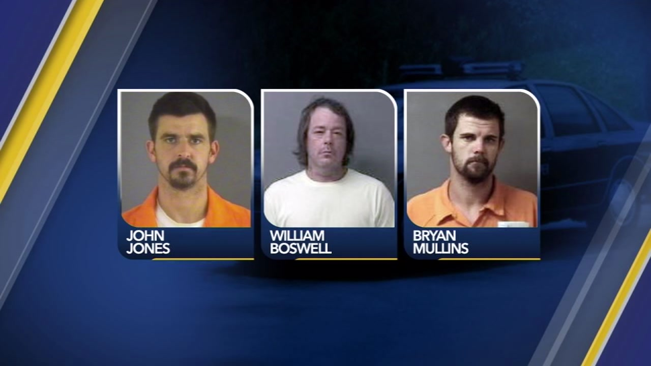 Three men face charges in the shooting of a state trooper in Wilson County.