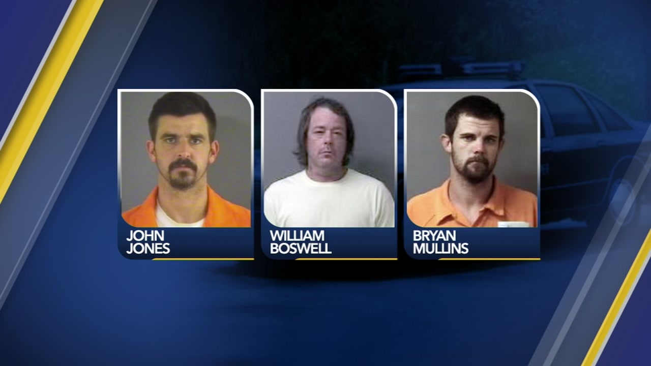 Three people were arrested after a state trooper was shot Monday night in Wilson County.
