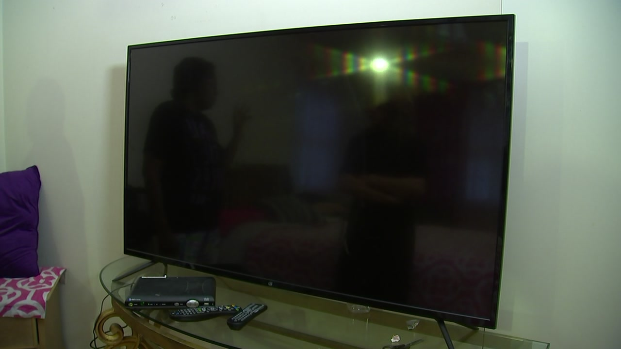 New problems left a Durham woman without a working TV.