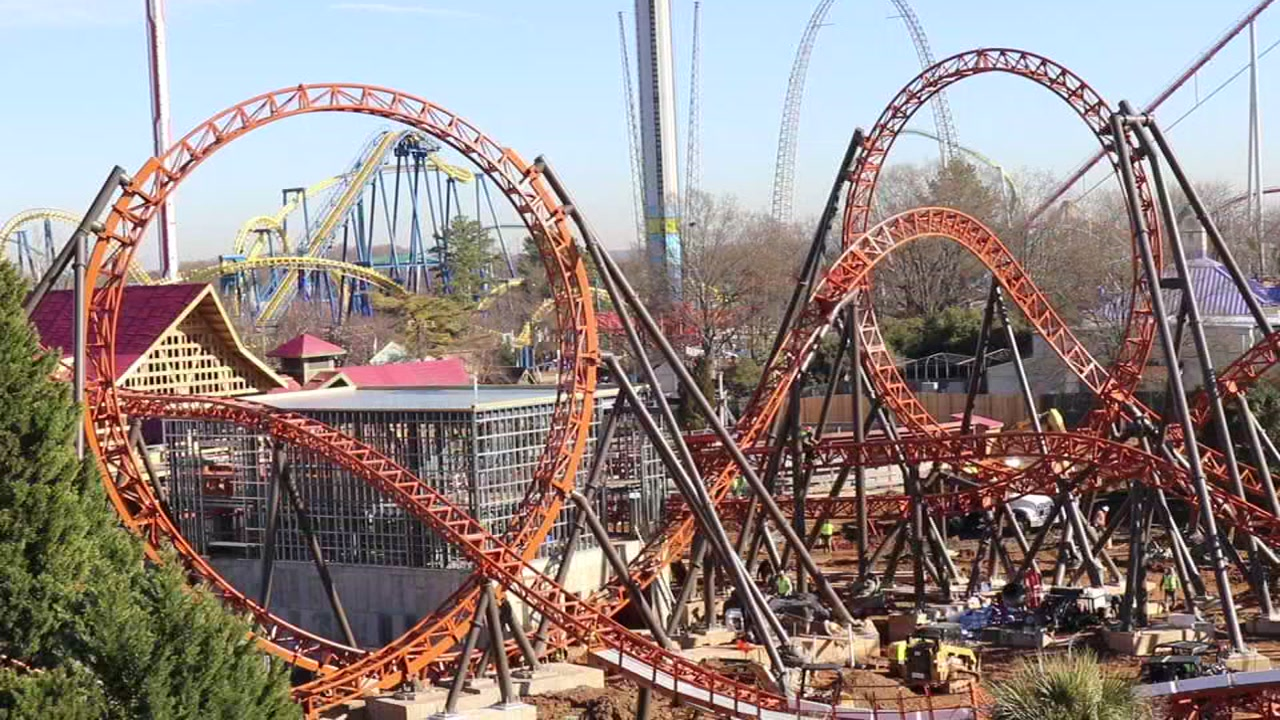 Carowinds is set to open the Carolinas first dual launching coaster: Copperhead Strike.
