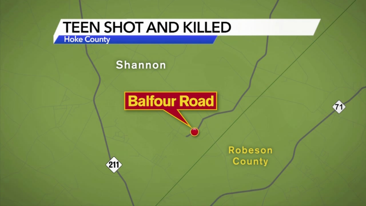17-year-old Hoke County student killed in shooting while walking home from party