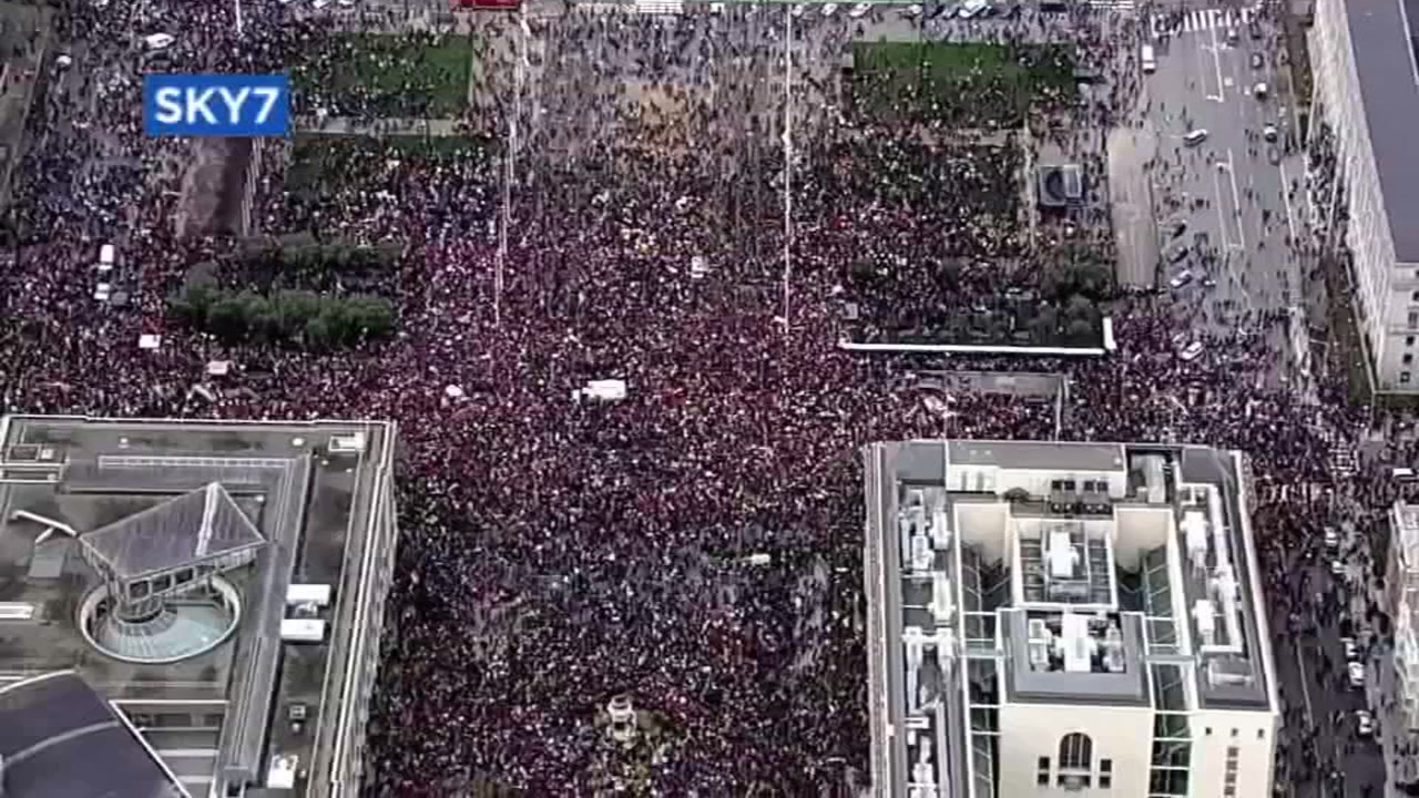 Womens March returns to Washington D.C. despite shutdown