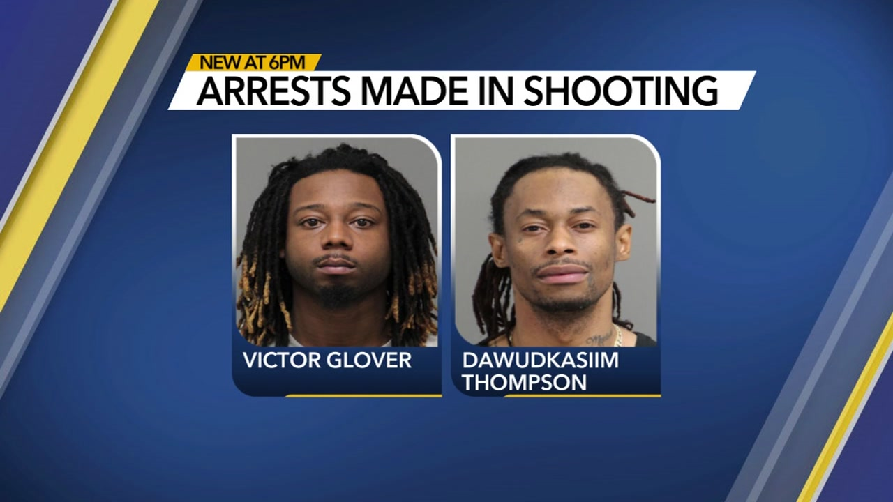 2 charged after Raleigh shooting near Sedgewick Drive