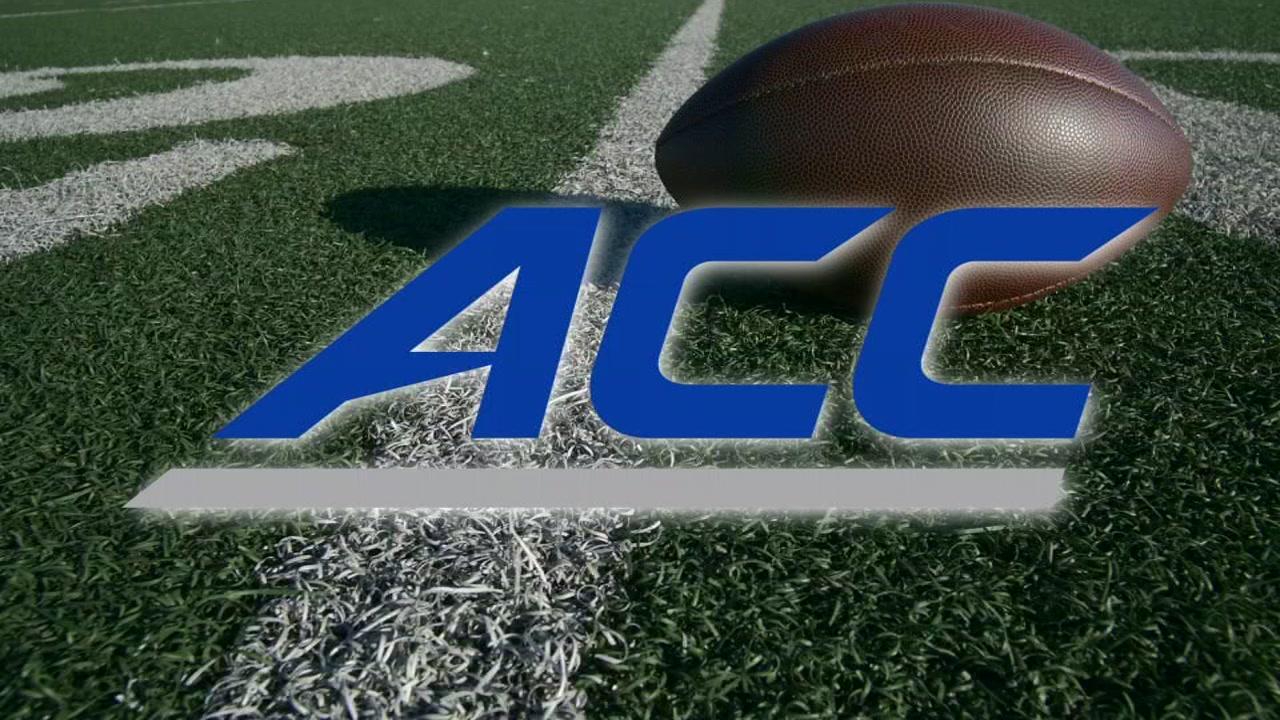 ACC 2019 Footbal schedule