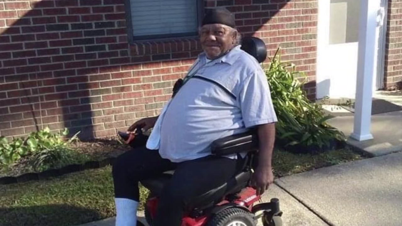 Joseph Newman was 67. He was struck and killed Friday crossing a Fayetteville street in his motorized wheelchair.