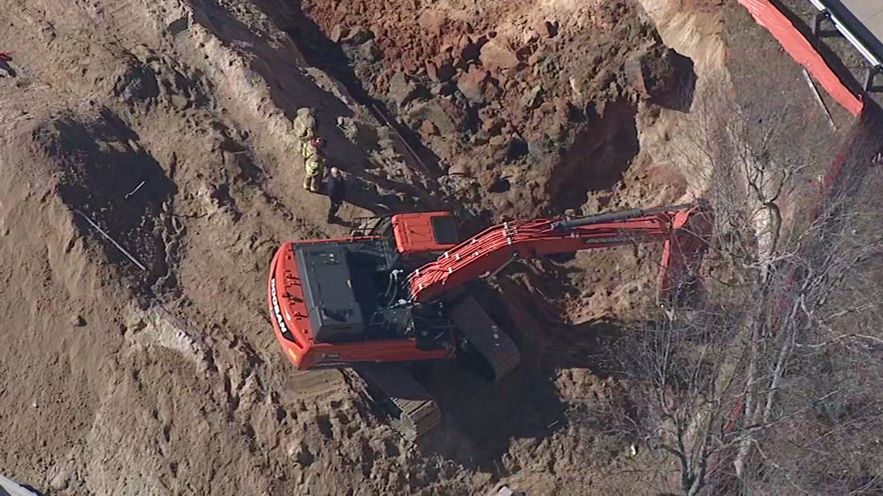 One person is dead and two are injured after an accident at a construction site in Raleigh.