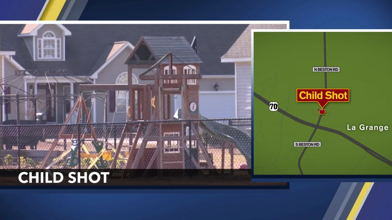 La Grange 3-year-old accidentally shot in the head while at home, authorities say