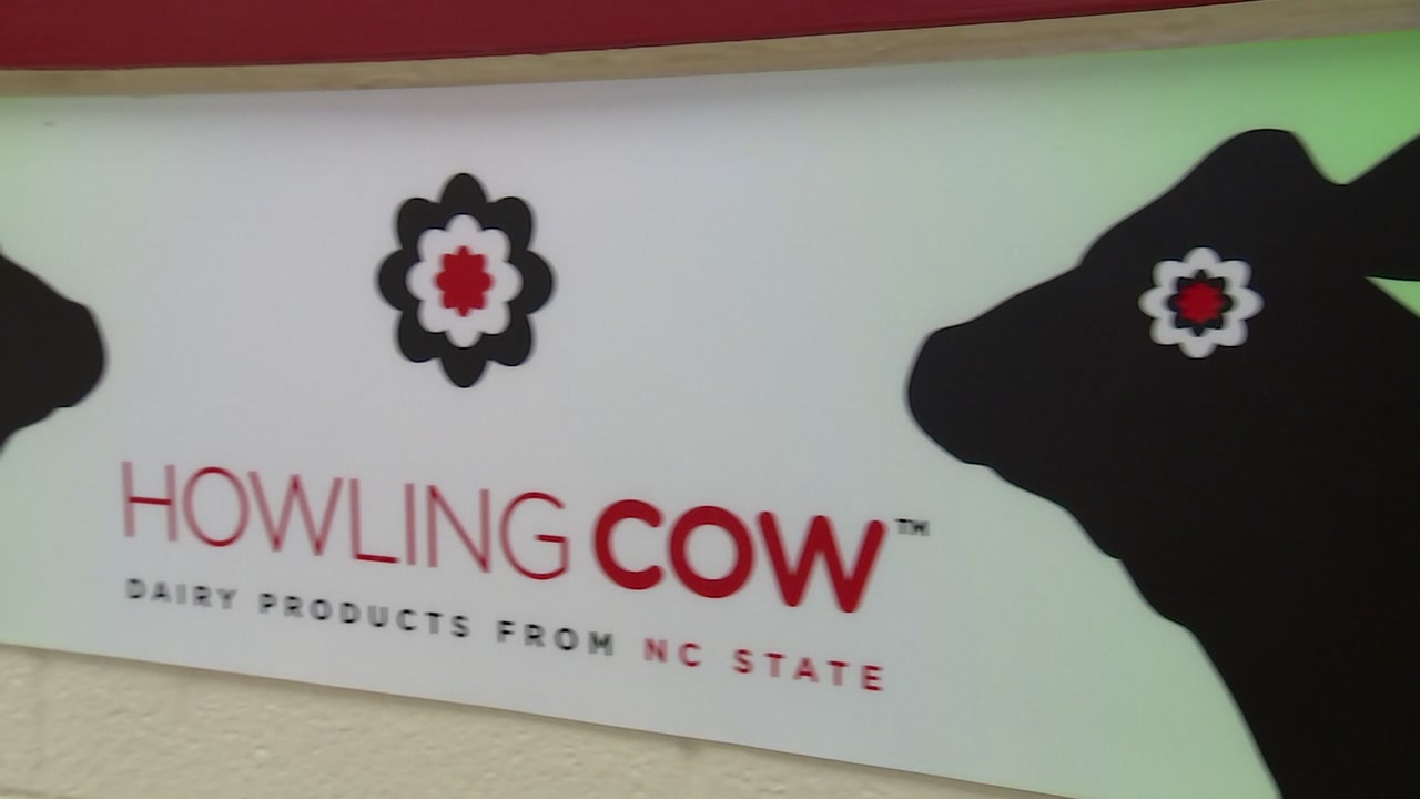 In a field off Lake Wheeler in Raleigh lay the utterly delicious beginnings of NC States Famous Howling Cow Ice Cream.