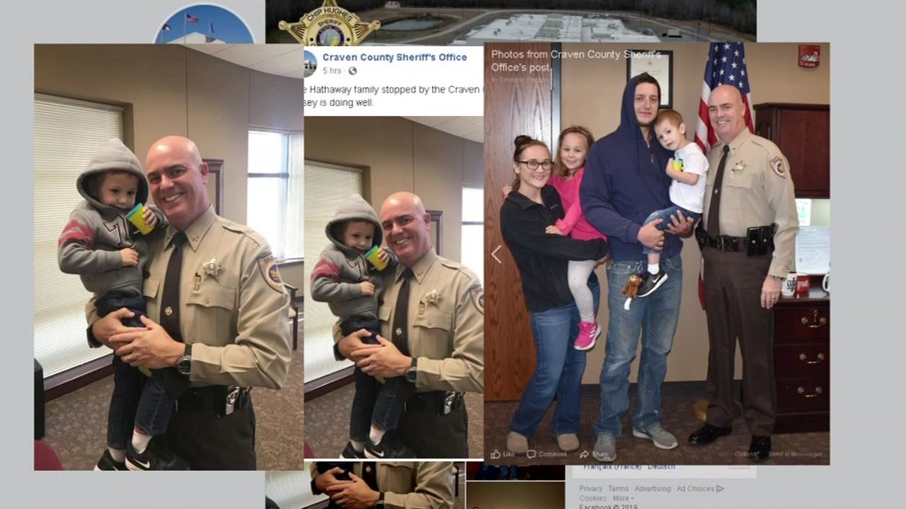 A special visit played out Thursday morning for a 3-year-old boy who captured the countrys attention after getting lost in the woods last week.