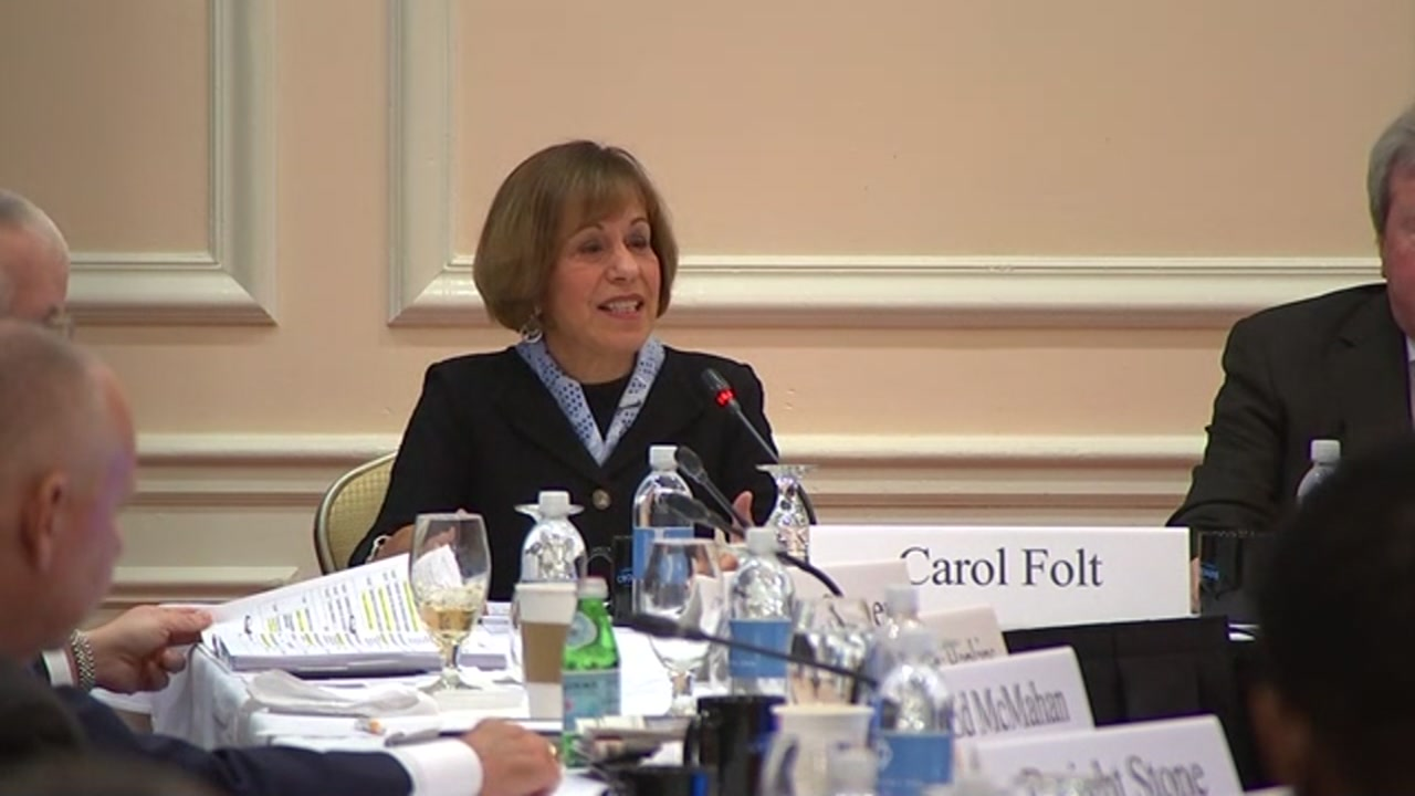 During her final remarks, Chancellor Carol Folt praised the UNC and reassured everyone that the school was in good hands.