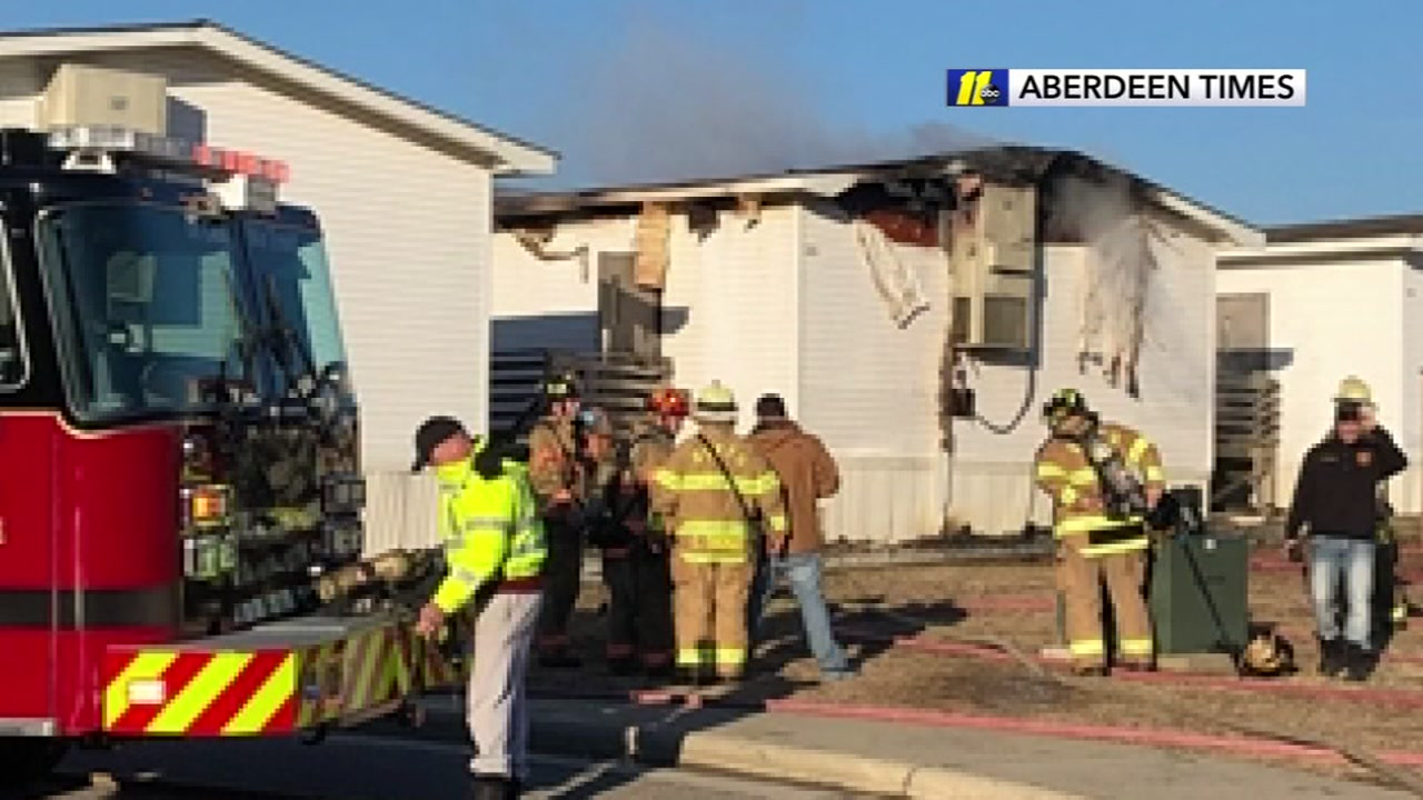 Fire destroys Moore County mobile classroom
