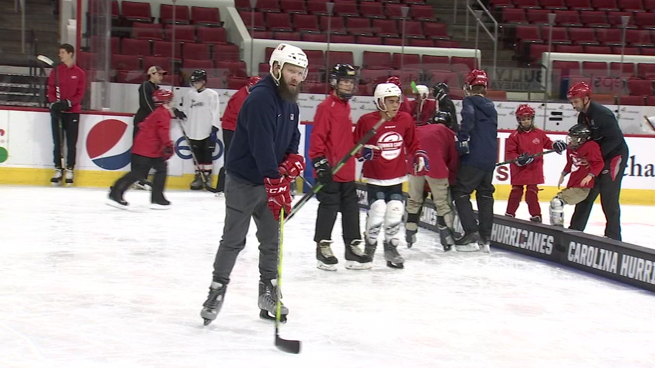 Taking the ice for the first time is challenging, no matter your age.