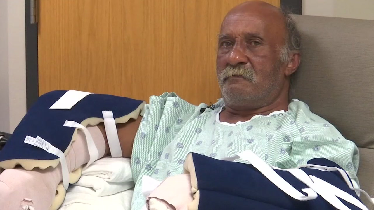 A Cumberland County employee was honored for saving the life of a man who was viciously attacked by a dog.