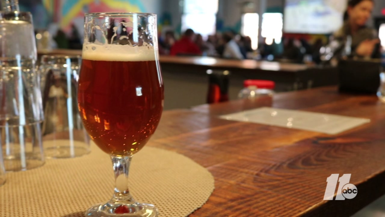 Kid friendly breweries in the Triangle