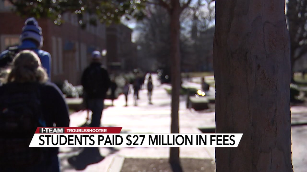 A newly released report shows millions of college students may be paying more for school sponsored bank accounts.