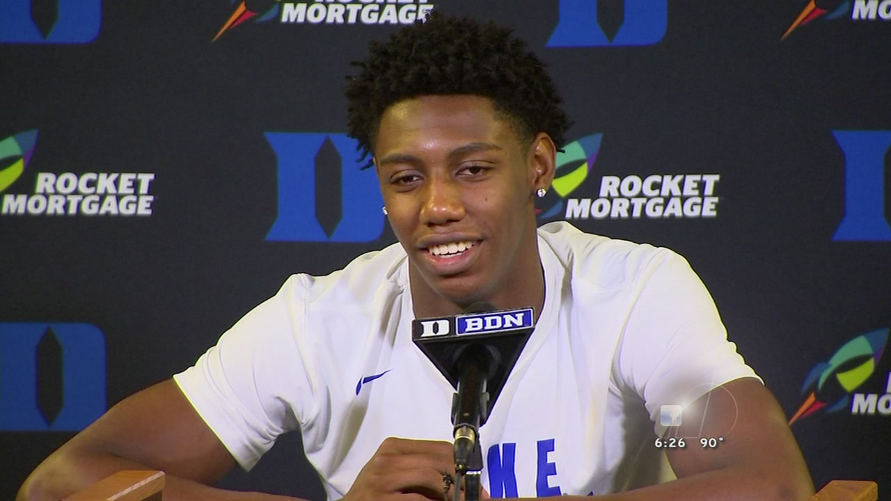 Duek freshman RJ Barrett will be back home as the Blue Devils travel to the Toronto area.