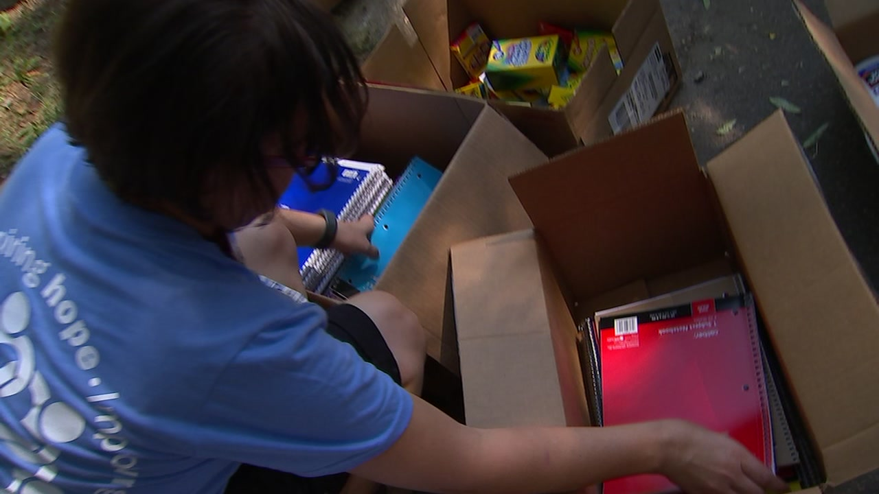 UNC Health Care holds school supply drive to Stuff The Bus