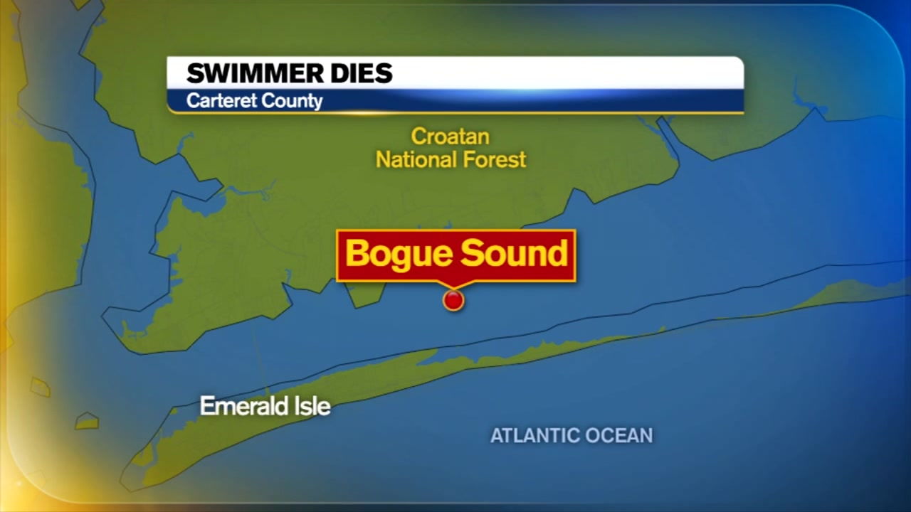 A 29-year-old tourist was pronounced dead after being pulled from the Bogue Sound less than a week after another drowning in Emerald Isle.