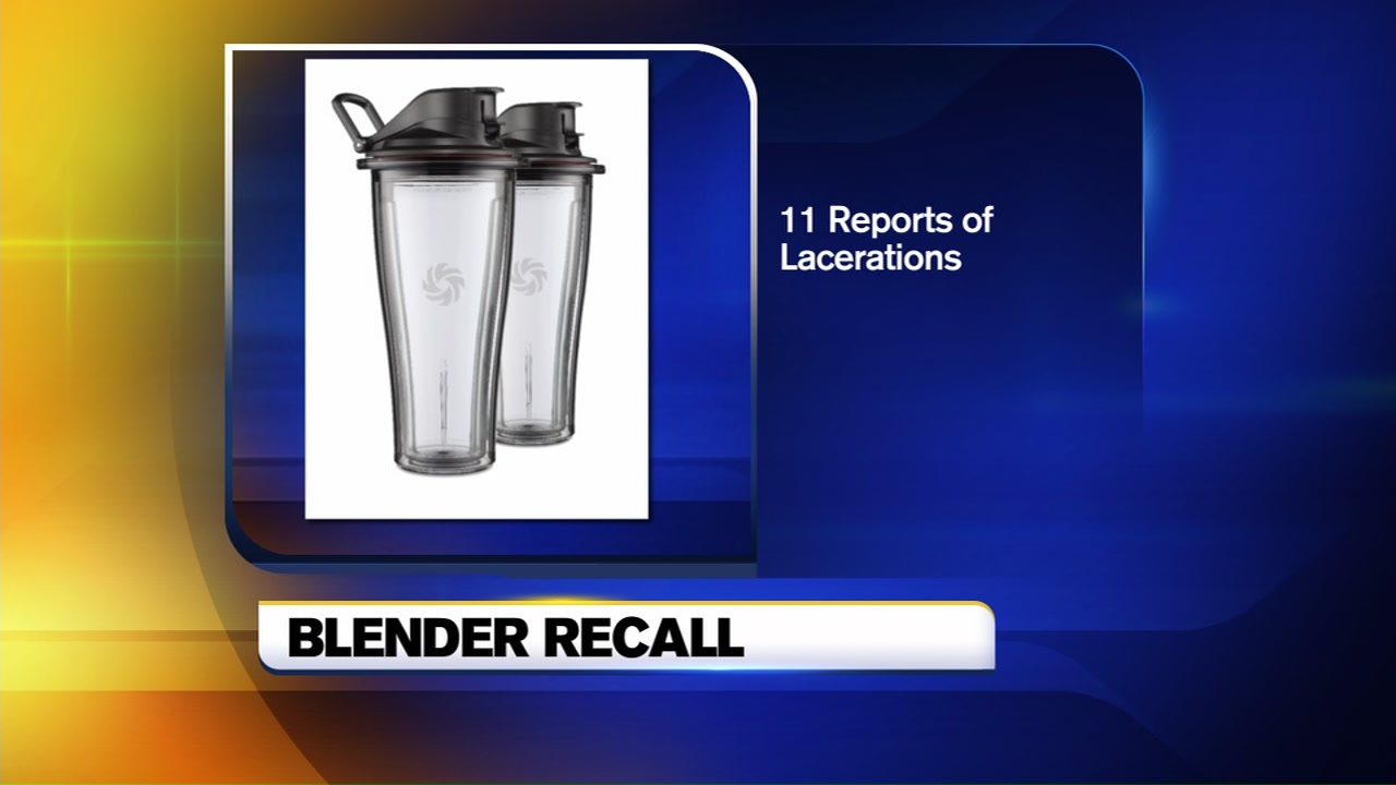 Vitamix is recalling certain models of blenders.