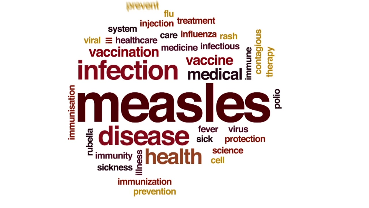 Over a hundred people in 21 states have contracted the measles