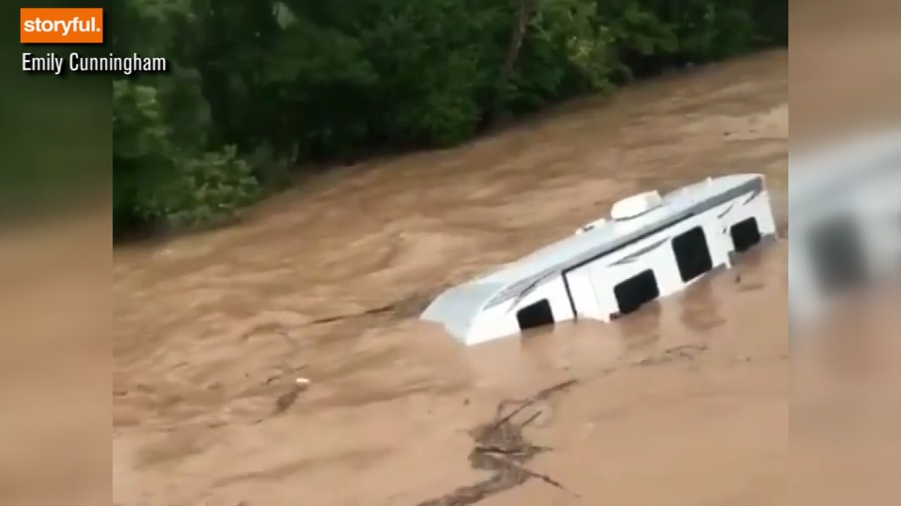 Heavy rains cause major flash flooding in New York and Pennsylvania