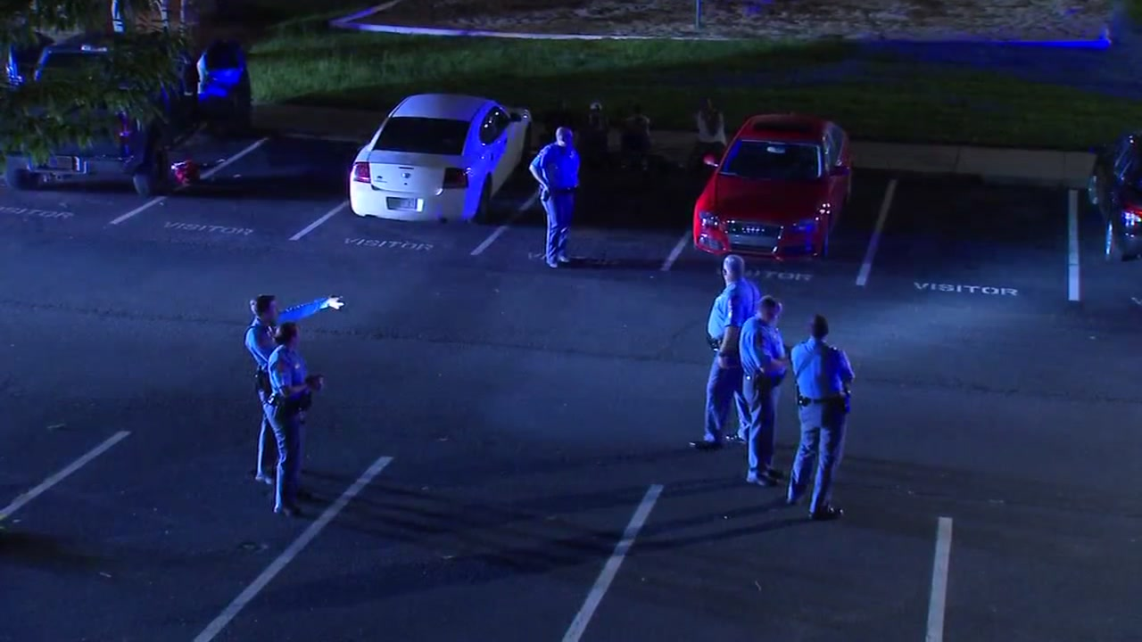 Two people are recovering after police said they were shot at a party at a Raleigh apartment complex Wednesday morning.