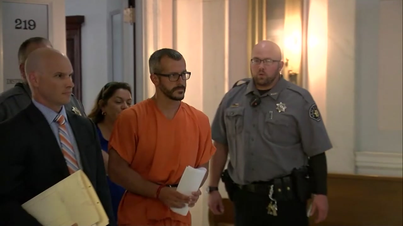 Christopher Watts is charged in the murders of his pregnant wife and two young daughters.