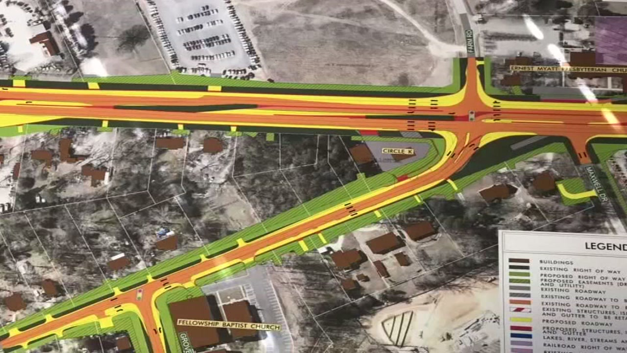 Changes to U.S. 401 in Garner could ease traffic congestion and reduce accidents