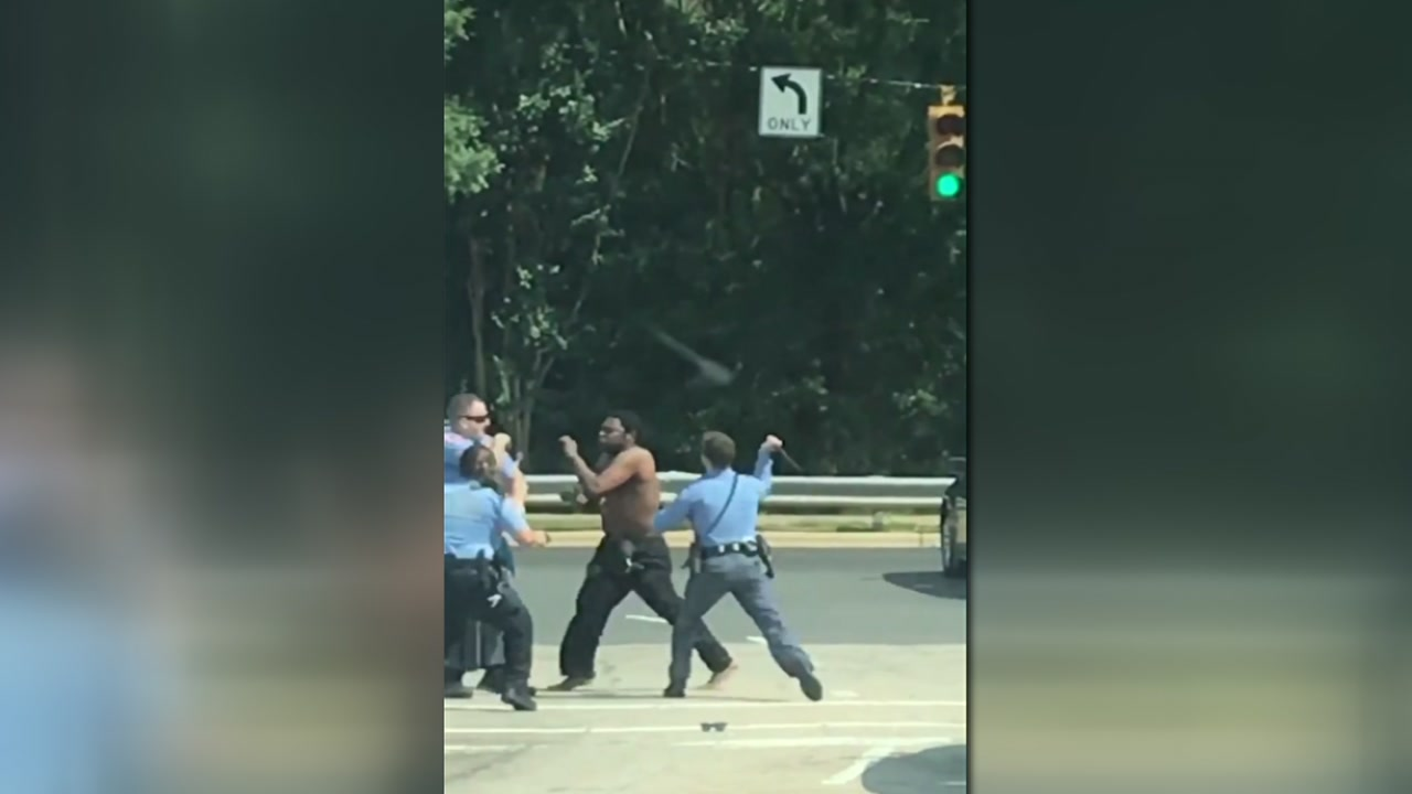New video emerges in Raleigh police altercation