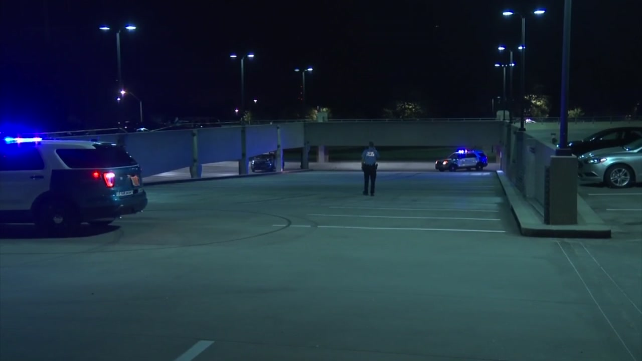 Police investigating shooting in parking deck near Triangle Town Center