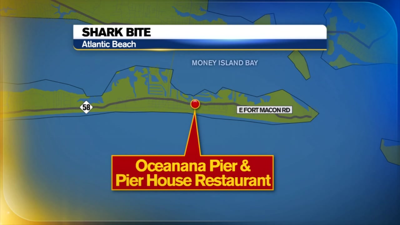 14-year-old bitten by shark at Atlantic Beach