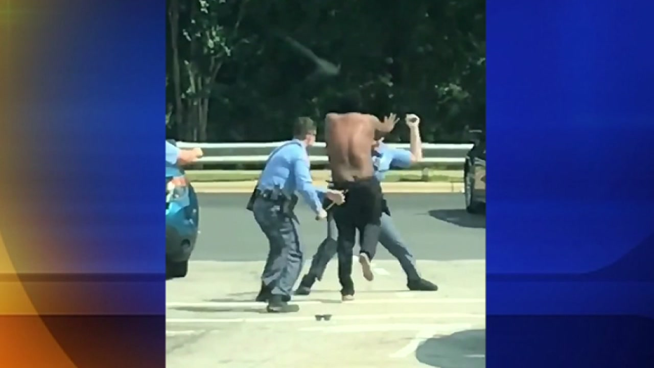 Raleigh Police Protective Association defend actions of officers in viral video of them hitting man with baton