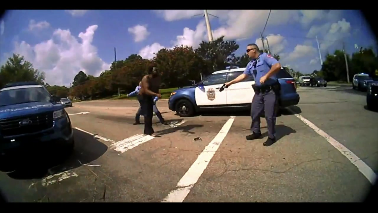 The City of Raleigh released dash and body cam for the incident on Monday.