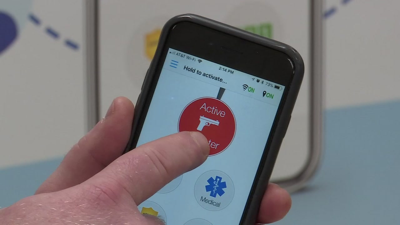 Hoke County schools take safety precautions with mobile app.