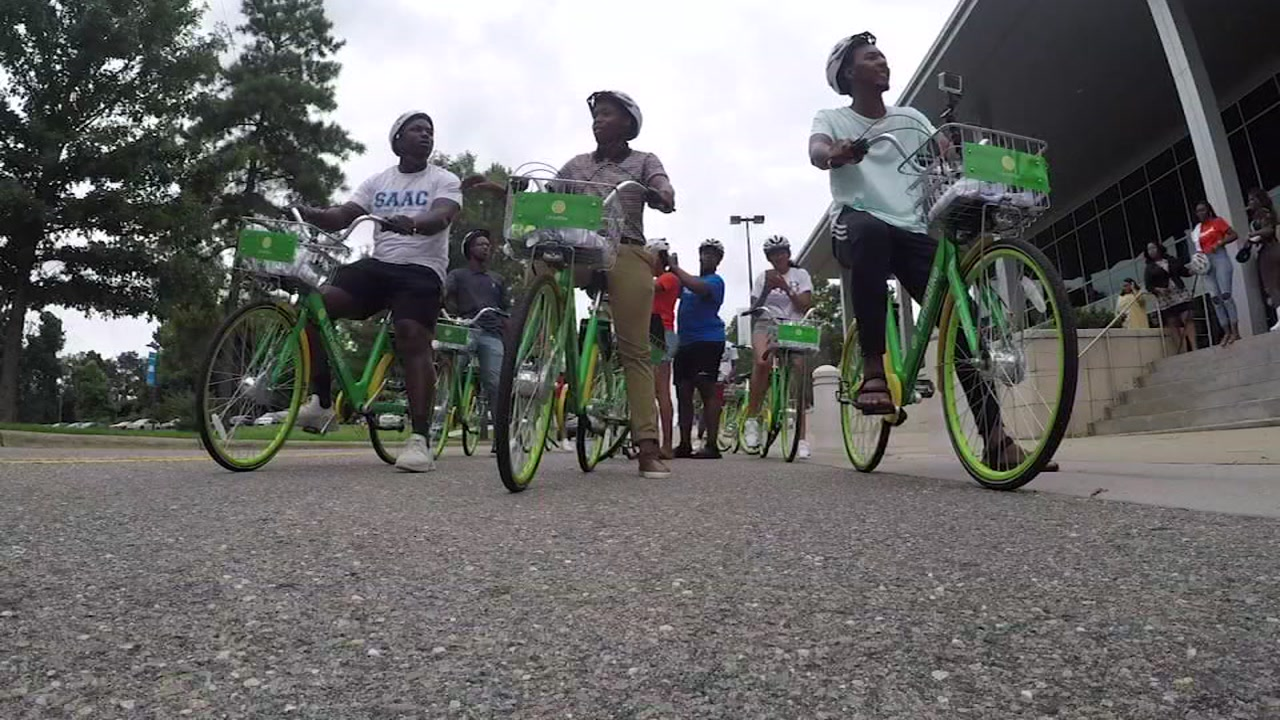 Fayetteville State University is rolling out its Lime Bike service.