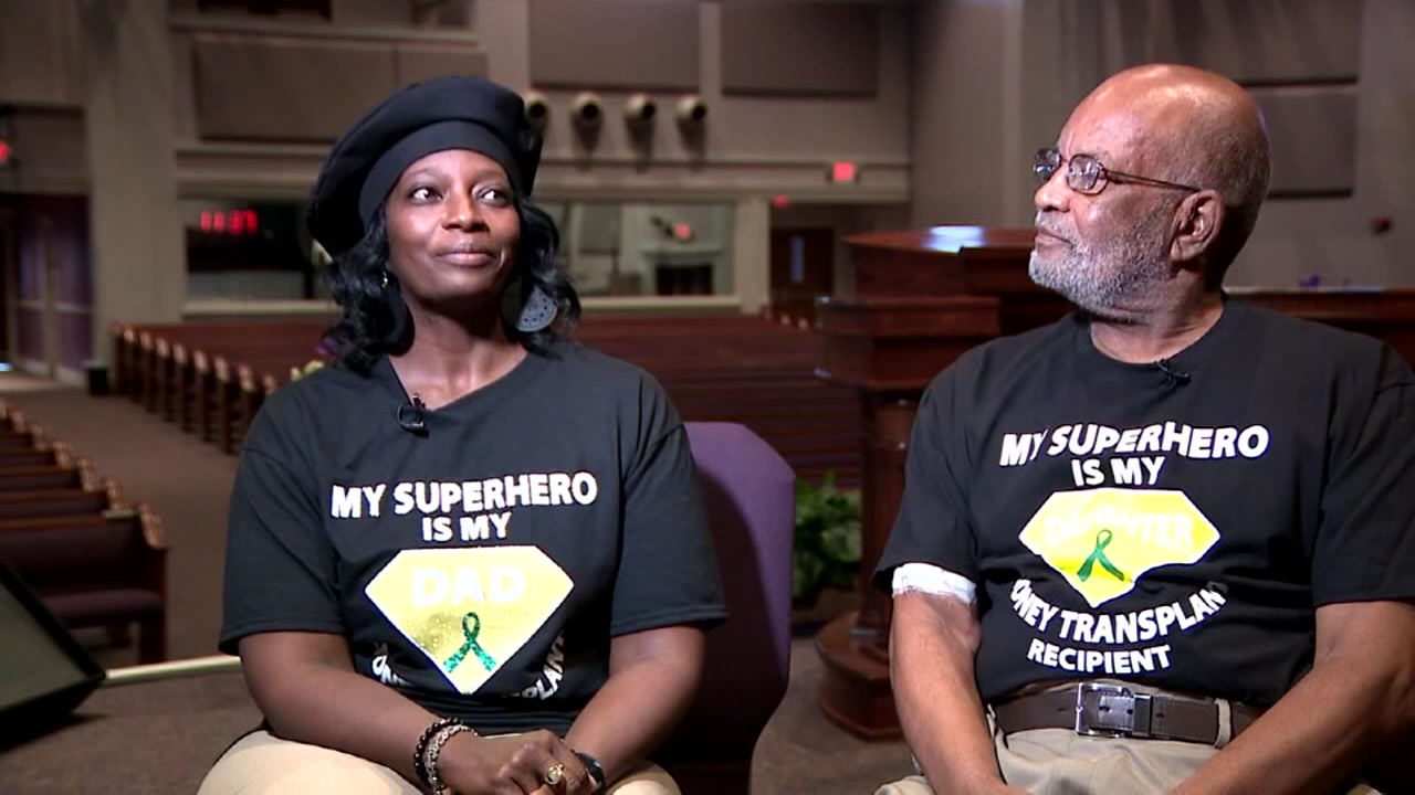 Georgia woman loses 55 pounds to donate her kidney to her father