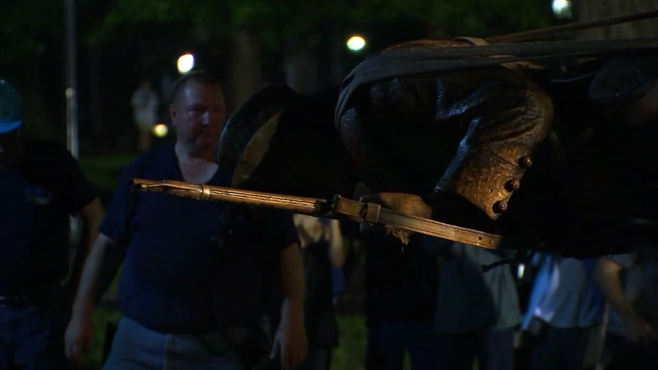 The Silent Sam statue is gone from the grounds of UNC-Chapel Hill but its still a big presence in conversations on campus and beyond.